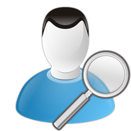Search User Icon 256x256 png
