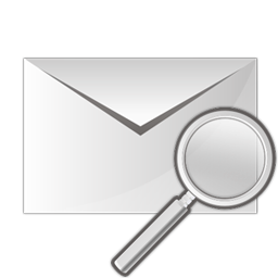 Search Mail Icon 256x256 png