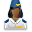 User Stewardess Black Icon