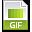 File Extension GIF Icon