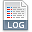 File Extension Log Icon
