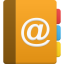 Address Book Icon 64x64 png