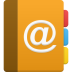 Address Book Icon 72x72 png