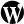 WordPress Black Icon 24x24 png