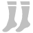 Socks Silver Icon 48x48 png