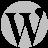 WordPress Silver Icon 48x48 png