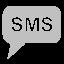SMS Silver Icon