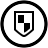 Antivirus Black Icon