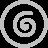 Spiral Silver Icon