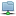 Blue Folder Network Horizontal Icon