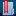 Blue Folder Bookmark Icon