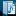Blue Folder Open Document Music Playlist Icon