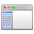 Application Sidebar List Icon