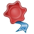 Mimetypes Application Certificate Icon 48x48 png