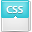 File CSS Stylesheet Icon