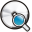 Disc Search Icon 32x32 png