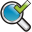 Search Check Icon 32x32 png