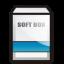 Blue Soft Box Icon 64x64 png