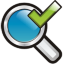 Search Check Icon 64x64 png
