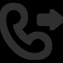 Outgoing Call Icon - Mono General Icons 3 - SoftIcons.com