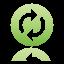 Button Synchronize Icon