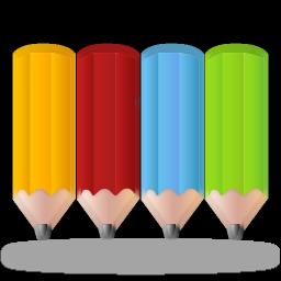 Colorpencils Icon 256x256 png