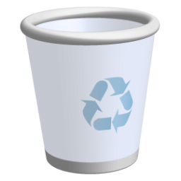 Recycle Bin Icon Ravenna 3d Icons Softicons Com