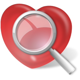 Favorites Search Icon 256x256 png