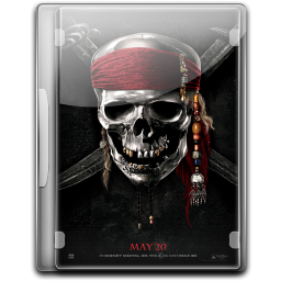 Pirates of the Caribbean on Stranger Tides v2 Icon 256x256 png
