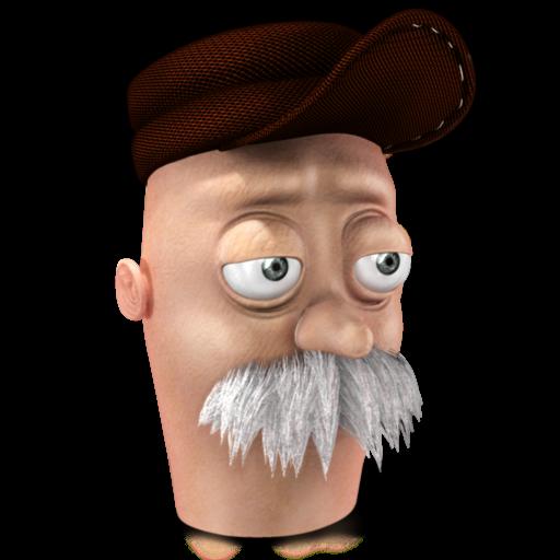 Scruffy Icon 512x512 png