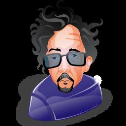 Tim Burton Icon 256x256 png