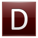 D Red Icon 128x128 png