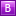 B Pink Icon 16x16 png