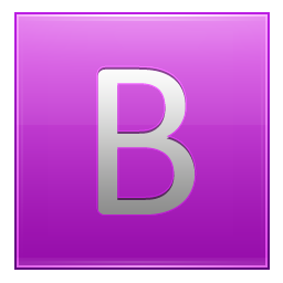 B Pink Icon 256x256 png