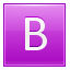 B Pink Icon 64x64 png