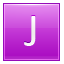 J Pink Icon 64x64 png