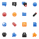 Blogica Icon Set