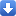 Arrow 2 Down Icon 16x16 png