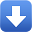 Arrow 2 Down Icon 32x32 png
