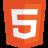 HTML5 Badge Icon