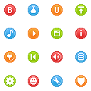 Minicons Coloria Icons