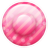 Pink Button 3 Icon
