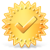 Regular Certificate Icon 72x72 png