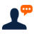 Blog Commenting Icon 48x48 png