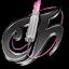 Tecno Chica Blog Black Icon 64x64 png