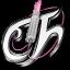 Tecno Chica Blog White Icon 64x64 png