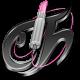 Tecno Chica Blog Black Icon 80x80 png