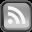 Black RSS Icon 32x32 png