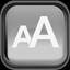 Black Font Icon 64x64 png