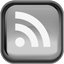 Black RSS Icon 64x64 png